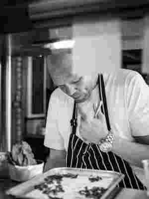 Tom Kerridge at the pass